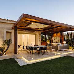 فناء أمامي تنفيذ Hossam Nabil - Architects & Designers,