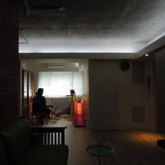 Living room by Fu design