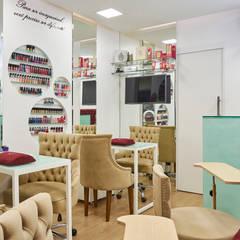 Galerías y espacios comerciales de estilo  por Atelier A4 - Design de Interiores