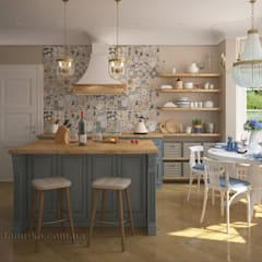 Kitchen by Tamriko Interior Design Studio
