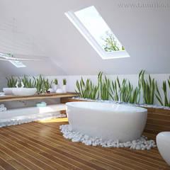 Minimalist Interior Design: minimalistic Bathroom by Tamriko Interior Design Studio
