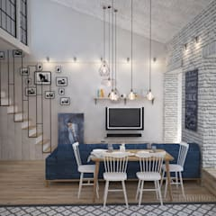 Ruang Keluarga by Tamriko Interior Design Studio