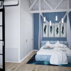 Bedroom by Tamriko Interior Design Studio