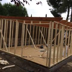 Caseta de madera habitable: Casas de madera de estilo  de Grupo Dancu 2017 S.L