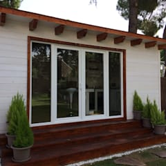 Wooden houses by Grupo Dancu 2017 S.L
