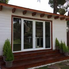 Houten huis door Grupo Dancu 2017 S.L