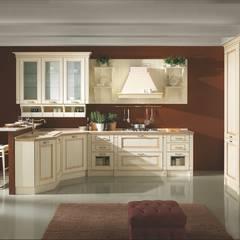 cucina laccata decape': Negozi & Locali commerciali in stile  di Linea arredamenti di Mandis Alberto e Co