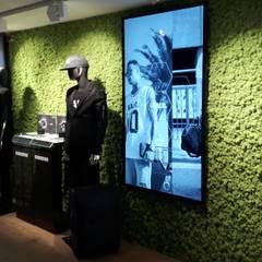 De groenewand:  Kantoor- & winkelruimten door Degroenewand.nl