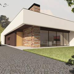 Moradia Unifamiliar    SJ    Viseu: Casas  por Pedro Palma Arquiteto