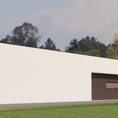 Moradia Unifamiliar  | SJ  | Viseu: Casas  por Pedro Palma Arquiteto,Moderno