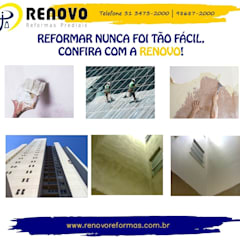 Office buildings by Limpeza Fachada Pintura Externa Reformas Prediais Renovo BH, Colonial Granite