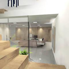 Interiorismo y diseño de espacios interiores y exteriores para casa en Almeria: Garajes de estilo  de CARMAN INTERIORISMO