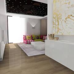 Diseño de sala multimedia: Salas multimedia de estilo  de CARMAN INTERIORISMO