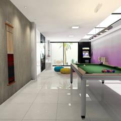 Diseño sala de juegos: Garajes de estilo  de CARMAN INTERIORISMO
