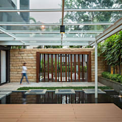 S+I House Taman Modern Oleh DP+HS Architects Modern