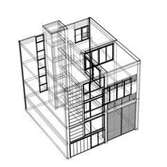 Stadsvilla Maastricht:  Trap door Verheij Architecten