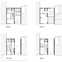 Stadswoning Maastricht:  Trap door Verheij Architecten BNA