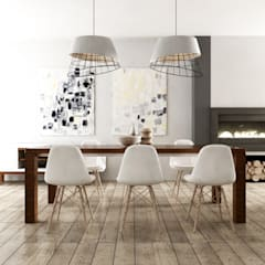 Dining room by SAMANTHA PASTRELLO INTERIOR DESIGN, Scandinavian