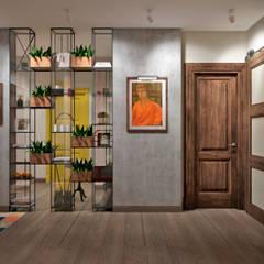 Pasillos y hall de entrada de estilo  por Студия архитектуры и дизайна Дарьи Ельниковой