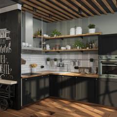 Cocinas de estilo  por Alyona Musina, Industrial