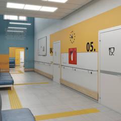 Визуализации  школы для инвалидов: Школы и учебные заведения  в . Автор – Alyona Musina