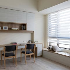 scandinavian Study/office by homify