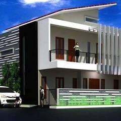 Rumah Tinggal di Jakarta: Rumah oleh Elevenstudios,