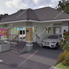 Houses by แบบบ้านออกแบบบ้านเชียงใหม่