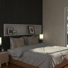 Reforma LP: Dormitorios de estilo  por IMAGENES MR