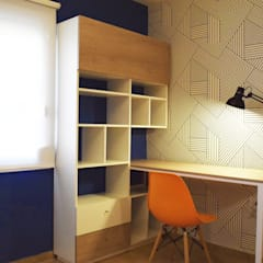 Departamento en Barrio Chateau: Dormitorios de estilo  por Da!  Diseño de  Interiores