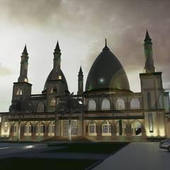 Masjid Raya Persatuan:  Tangga by Besar Studio Arsitektur