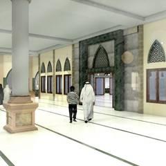 Masjid Raya Persatuan: Teras oleh Besar Studio Arsitektur,