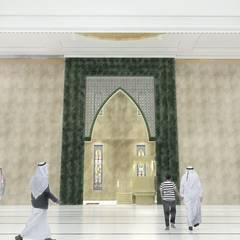 Masjid Raya Persatuan: Lantai oleh Besar Studio Arsitektur, Mediteran