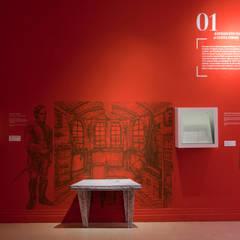 Biblioteca Nacional de Colombia: Museos de estilo  por Zet // diseño de espacios, Moderno