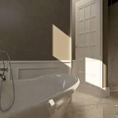 Villa privata: Bagno in stile  di MELLINACORTISTUDIO