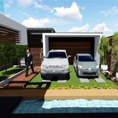 PROYECTO DE VIVIENDA UNIFAMILIAR CASA VERDE de Architech Tacna Arquitectos e Ingenieros Moderno
