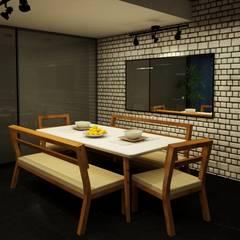 Comedor: Comedores de estilo industrial por MC Interior