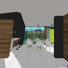 Casa en Barinas: Comedores de estilo  por MARATEA Estudio