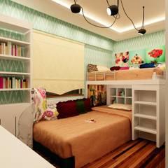Mozeta Mimarlık – Gümüş Evi Genç Odası: modern tarz Çocuk Odası