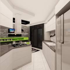 Mozeta Mimarlık – Gümüş Evi Mutfağı:  tarz Mutfak