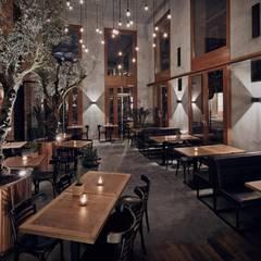 Plac Nowy 1 - restauracja: styl , w kategorii Bary i kluby zaprojektowany przez Double Look Design