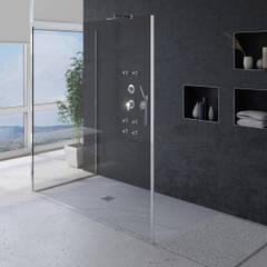 Plato de ducha_pizarra gris: Baños de estilo moderno de A3D INFOGRAFIA