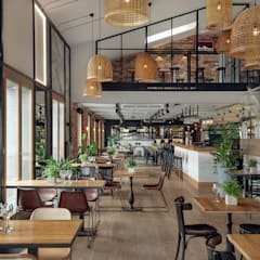 Plac Nowy 1 - Klub - piętro +2: styl , w kategorii Bary i kluby zaprojektowany przez Double Look Design