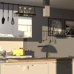 2: Cucina attrezzata in stile  di Elio Di Franco