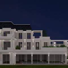 Villa in stile vittoriano: Villa in stile  di MELLINACORTISTUDIO
