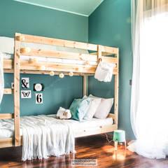 غرفة نوم أولاد تنفيذ rosalba barrile architetto , إسكندينافي
