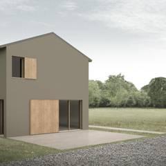 DOMUS LB: Casa di campagna in stile  di Davide Ceron Architetto
