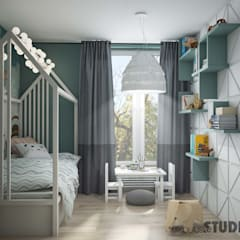 Baby room by MIKOŁAJSKAstudio ,