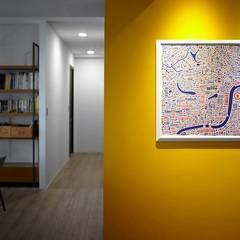 دیوار توسط禾廊室內設計, اکلکتیک (ادغامی)