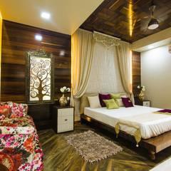 Goel's, Aanandam World City, Raipur:  Bedroom by ES Designs